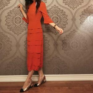 BNWT Iris and Ink 100% silk dress